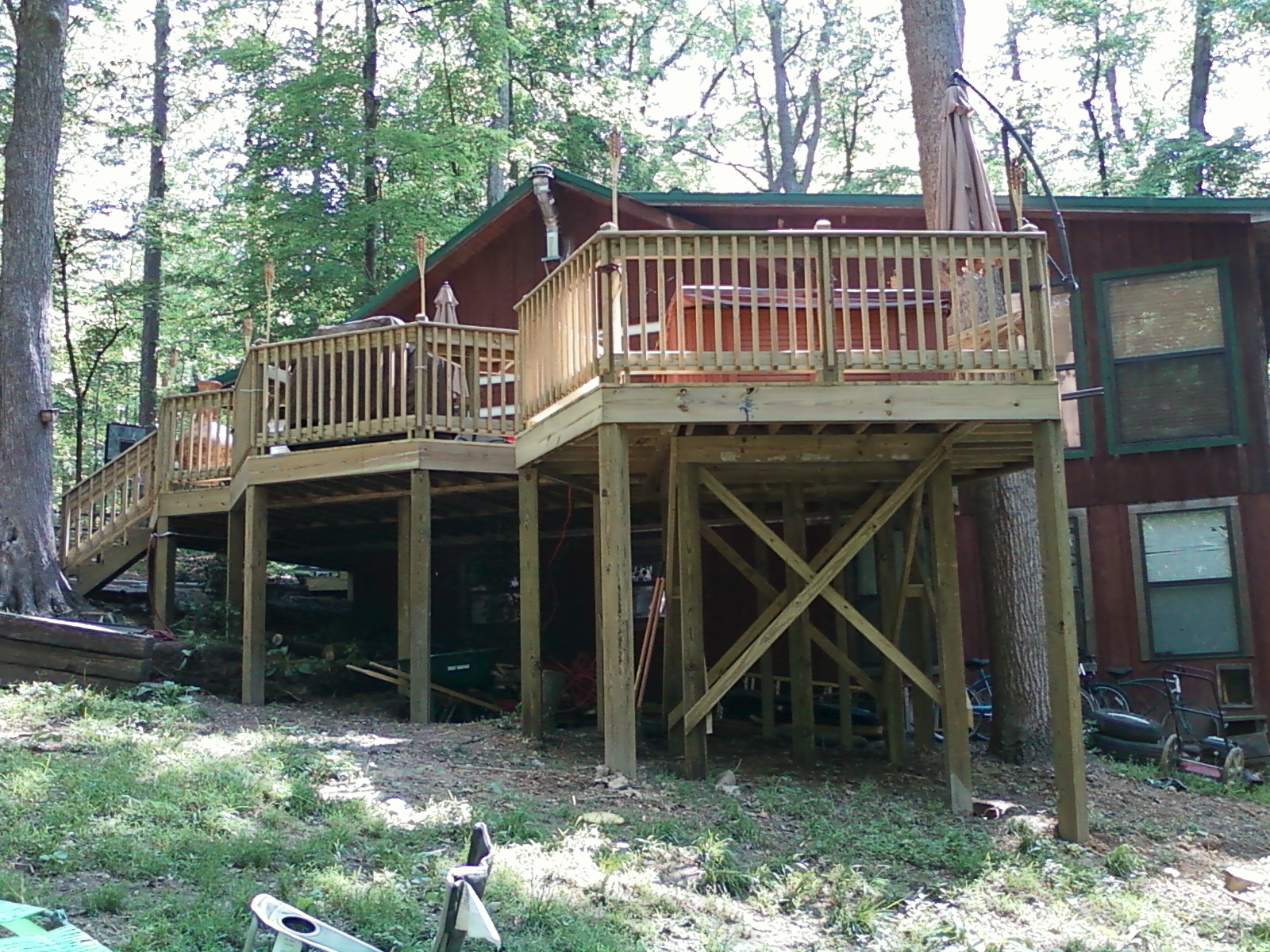 projects manage design view surface build the of from bench tub area hot deck