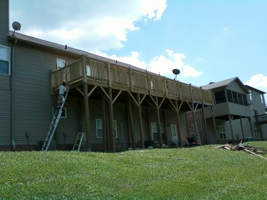 finished picture of the deck