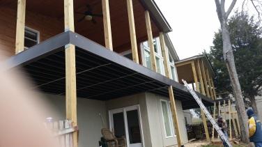 steel joist deck framing