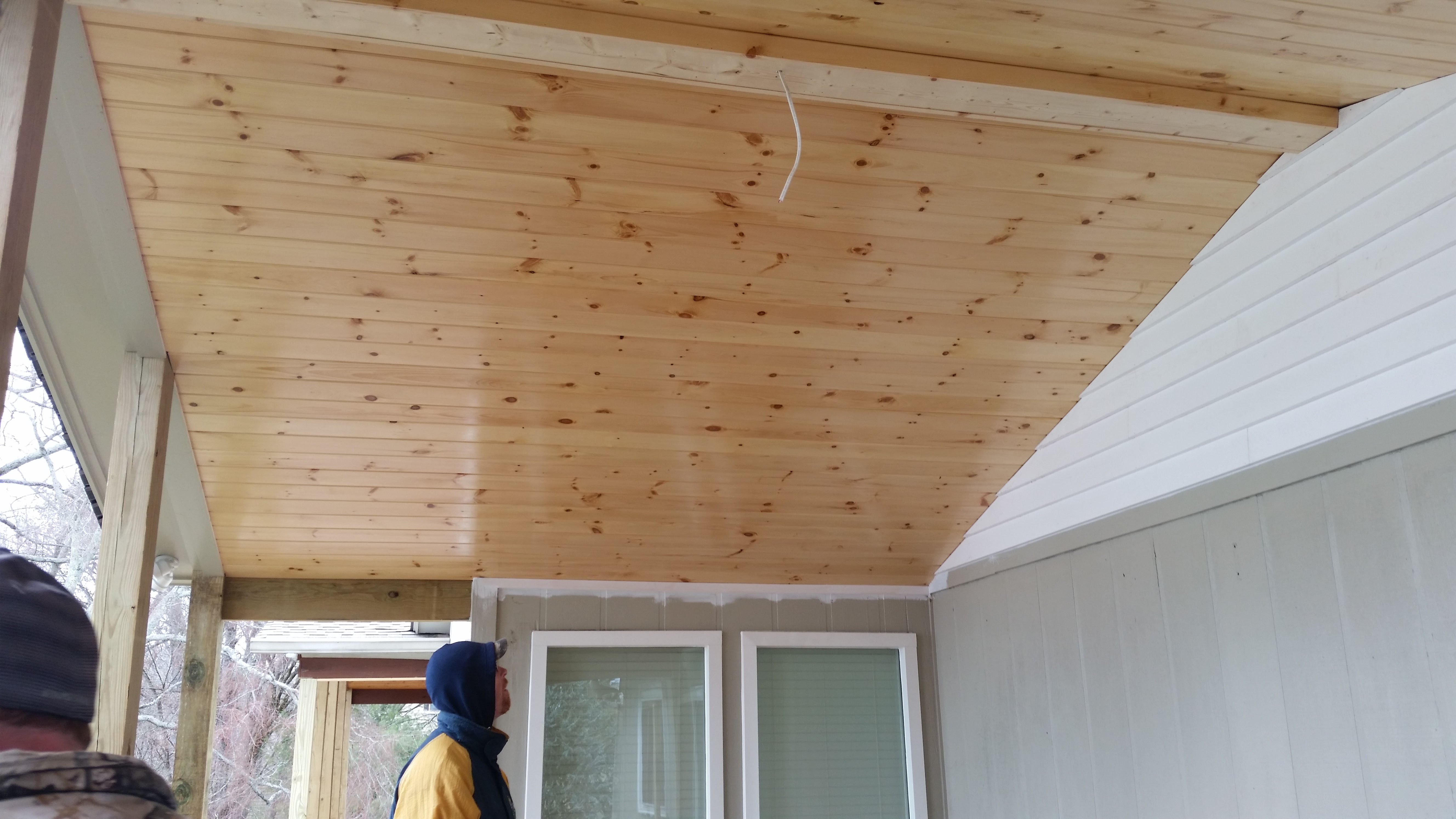 Image Navigation. Previous Image · Next Image. Tongue And Groove Porch  Ceiling