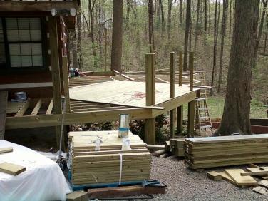 main deck frame