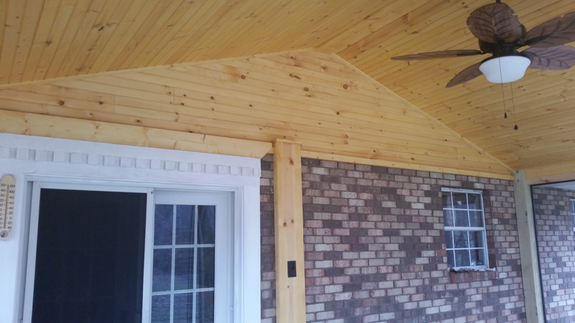 A Screened In Porch By The Deck Builder In Alcoa Tn The