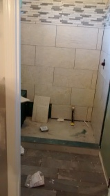 shower during picture