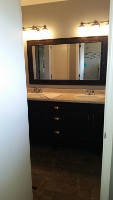 new vanity